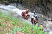River canyoning in the French Pyrenees