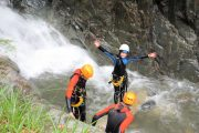 Canyoning fun Pyrenees