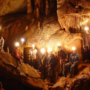 Caving in the French Pyrenees