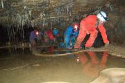 Cave explorations on a summer multi activity holiday