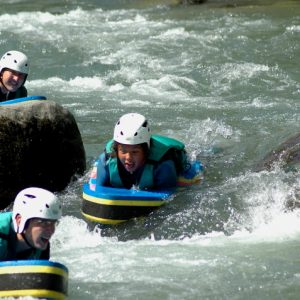 Hydrospeed river fun on a multi activity holiday