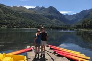 Adventures with kids Lac de Genos