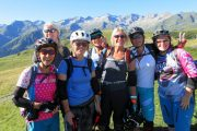 Womens mountain biking holiday fun in the French Pyrenees