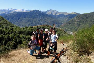 Women's mountain biking holidays in France