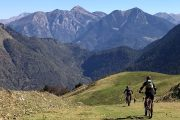 MTB Pyrenees superbagneres descent