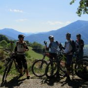 Sunny days on a women's mountain biking holiday in France