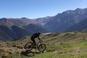 Mountain biking Superbagneres Pyrenees