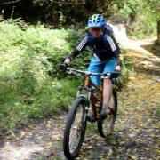 Mountain biking holiday descent