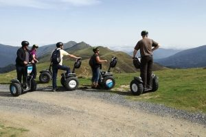 Offroad Segway in the Pyrenees