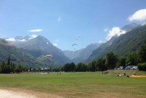 Paragliding in the Louron Valley