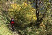 MTB descent near Luchon