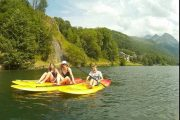 SUP and lake kayaking Pyrenees