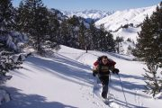 Explore France and Spain on a snowshoe short break
