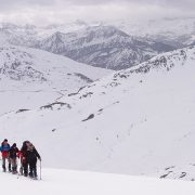 Snowshoeing holiday adventures in the Pyrenees