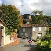 Pyrenees village mountain biking