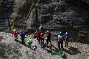 Preparing for beginner rock climbing in the Pyrenees