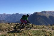 Enjoying a women's MTB holiday