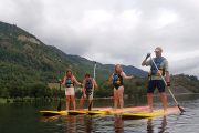 Family fun SUP Pyrenees