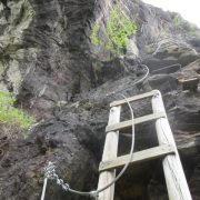 Summer multi activity holiday via ferrata fun