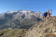 Views of Pic Aneto hiking Pyrenees