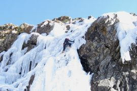Learn to ice climb on a winter adventure holiday