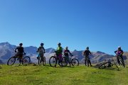 Womens MTB group Pyrenees