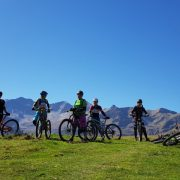Womens MTB group Pyrenees