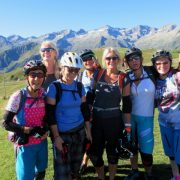 A great women's MTB holiday group in France