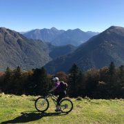 Great views on a Pyrenees womens MTB holiday