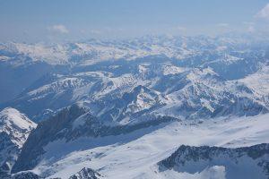View from Pic Aneto ski tour