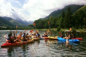 Kayak canoe adventures Pyrenees