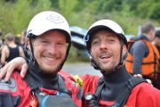 River rafting guides in the Pyrenees