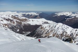 Ski touring in the Pyrenees