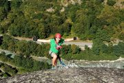 Via ferrata in the French Pyrenees