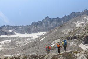 Climbing Aneto on the Pyrenees hiking challenge
