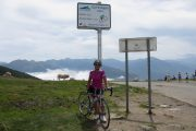 Col conquering on a road biking holiday in France