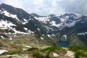 Hiking holiday in the high mountains of the Ariege Pyrenees
