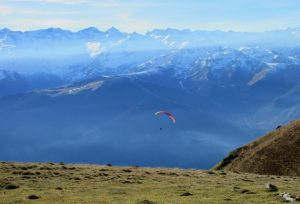Paragliding adventures in the Pyrenees