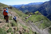 Hiking holiday in the Pyrenees with great views
