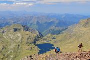 Far reaching mountain views on this Pyrenees hiking holiday