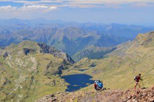Far reaching mountain views on this Pyrenees hiking holiday