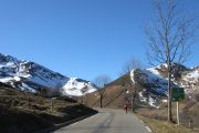 Spring road biking col de Peyresourde