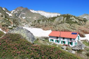 Stay at the Certescan refuge on a mountain walking holiday in France and Spain