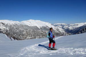 Snowshoeing kit to wear