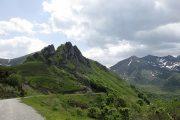 View col d'Agnes Ariege Pyrenees