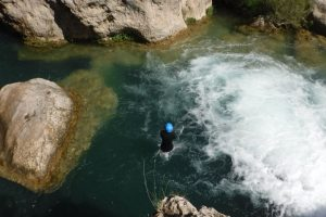 Canyoning adventure holiday