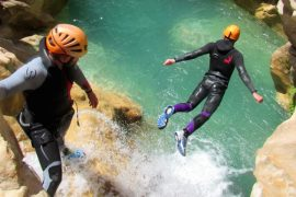 test your mettle on a canyoning adventure holiday