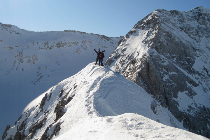 Winter mountaineering course in the Pyrenees