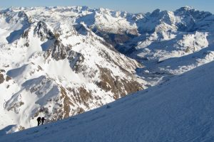 A guided holiday in the Pyrenees mountains