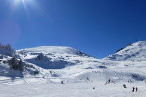 XC skiing resort